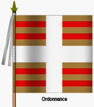 Bearn Infanterie Ordonnance Flag