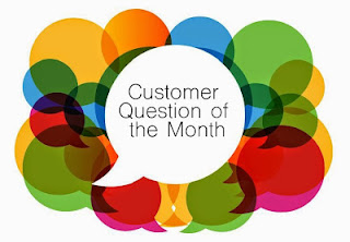 "The ""Customer Question of the Month"" eGumball, Inc. logo."