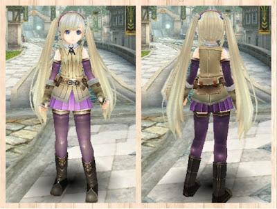 冒険者の服 紫2