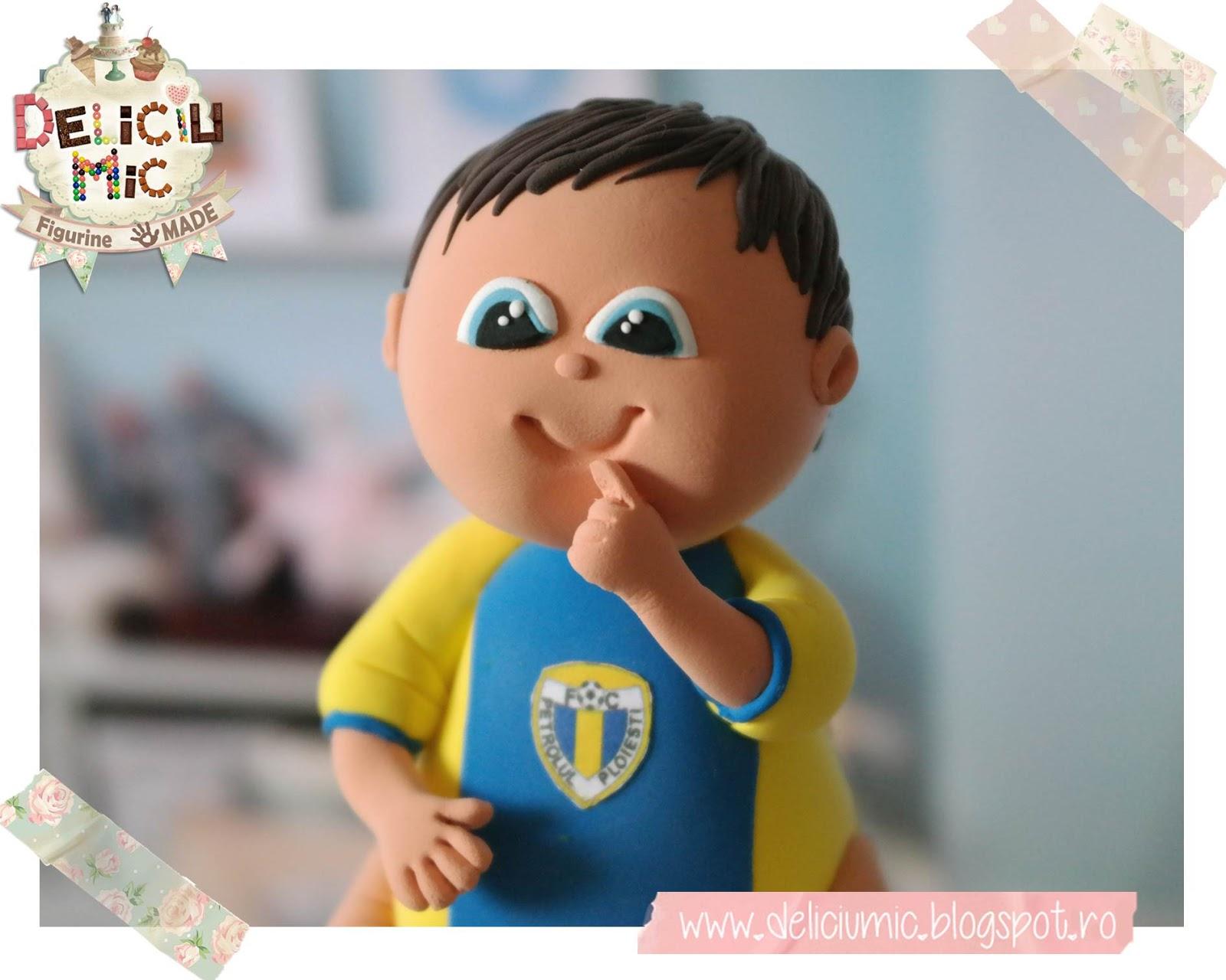 Figurina tort baietel