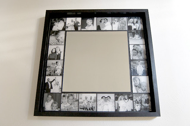 The art of up cycling diy mirror frame ideas you can make for Making a large picture frame