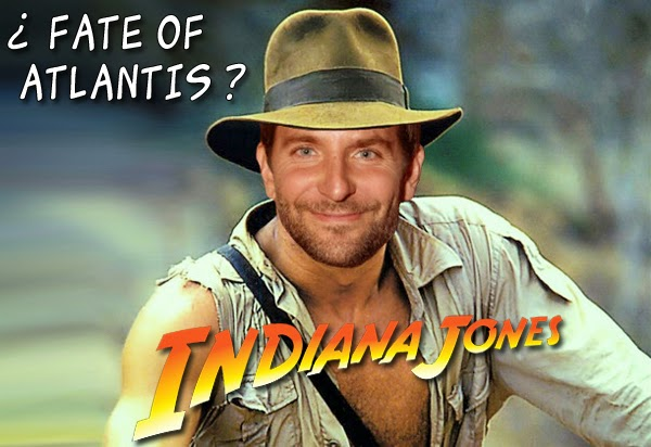 """¡Bradley Cooper protagonizara """"The Fate of Atlantis"""", la quinta película de Indiana Jones!"""