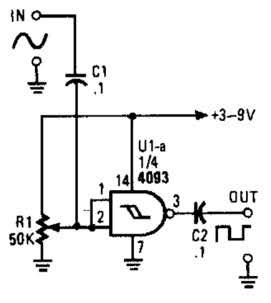 Super Circuit Diagram Simple Sine Wave To Square Wave