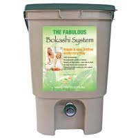 Composting made easy with Bokashi...
