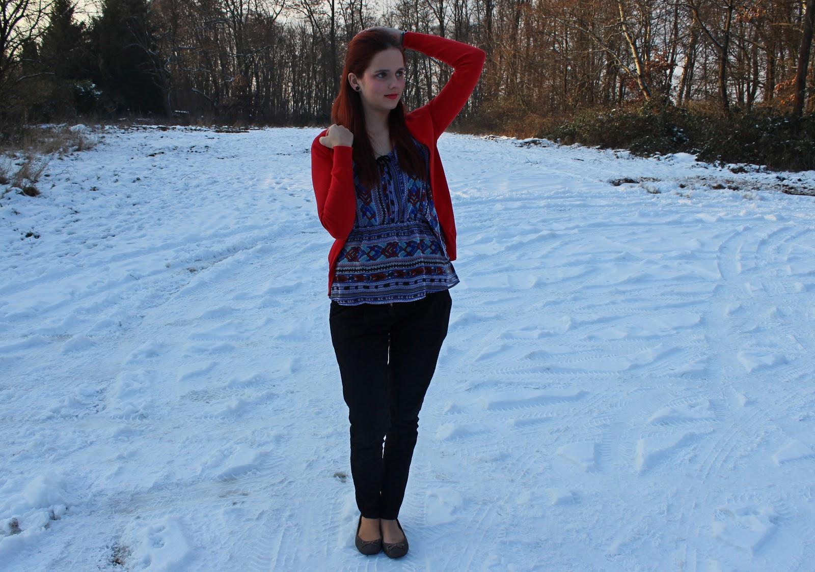 ballerinas im winter