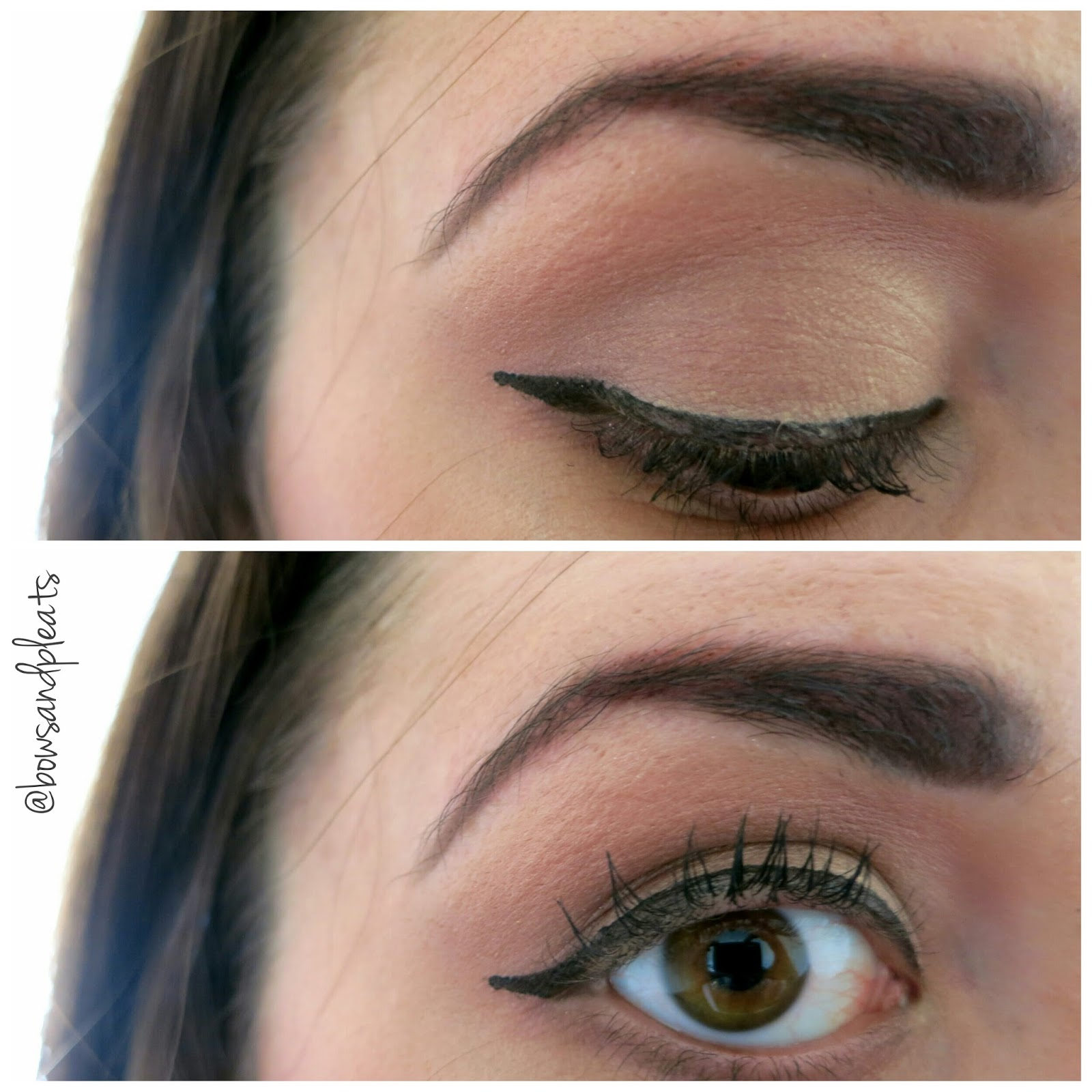 Bows and Pleats: How-To: Dramatic Lips & Winged Eyeliner