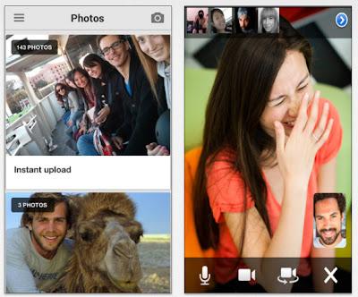 Google+ Instant Upload