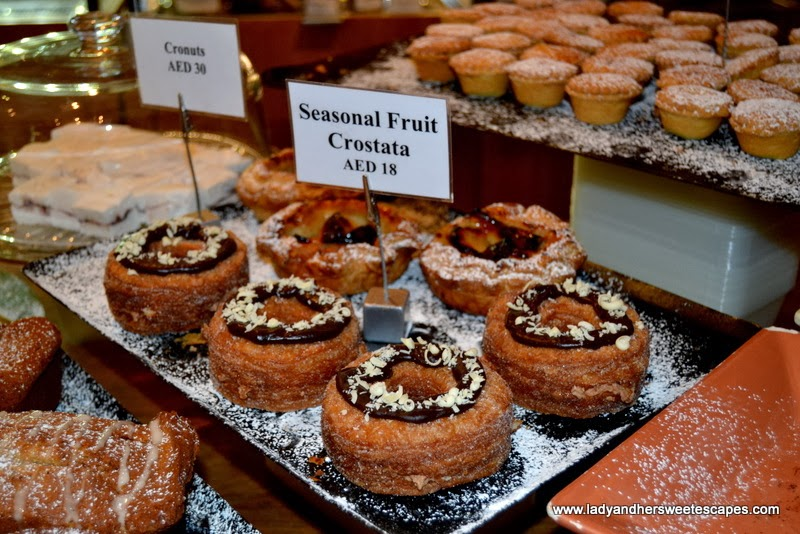 Cronut of Baker & Spice at Dukkan al Manzil