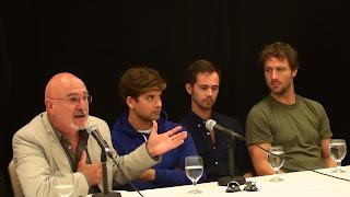 LA MAISON DU PÊCHEUR . Alain Chartrand, Mikhaïl Ahooja, Charles-Alexandre Dubé, Kevin Parent