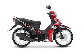 Yamaha Force sepeda motor model baru