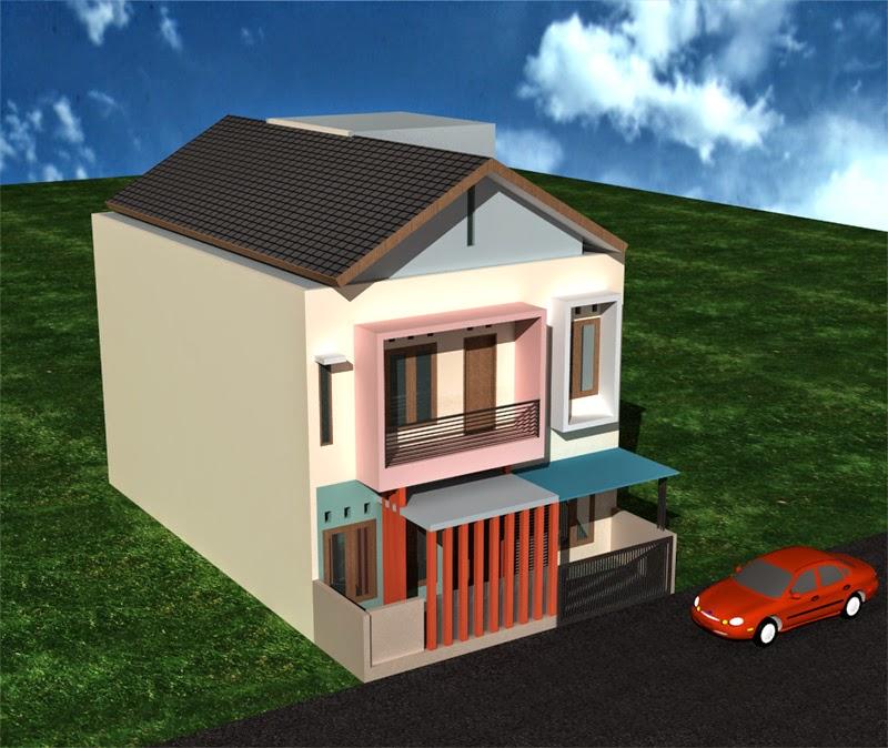 Model bangunan rumah kos minimalis mewah dengan 2 lantai & Desain Arsitektur Rumah Kos Minimalis Terbaru 2014 | Desain Rumah ...