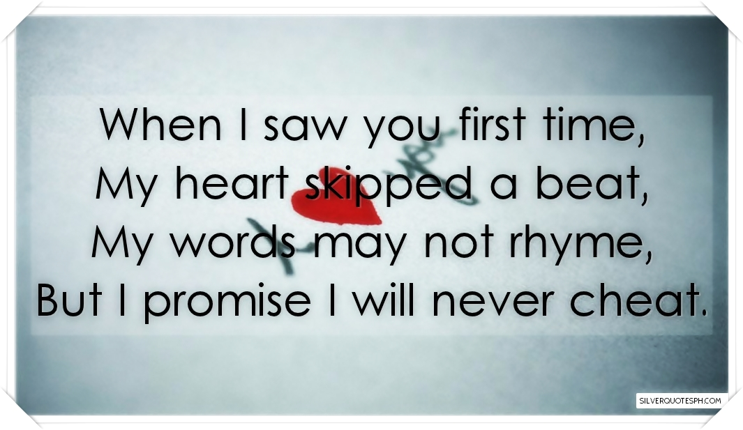 When I Saw You First Time Picture Quotes Love Quotes Sad Quotes