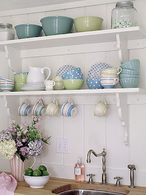 Vintage Kitchen Design on Gemma Moore Kitchen Design  Open Kitchen Shelving