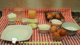 Receta fácil de tarta de limón