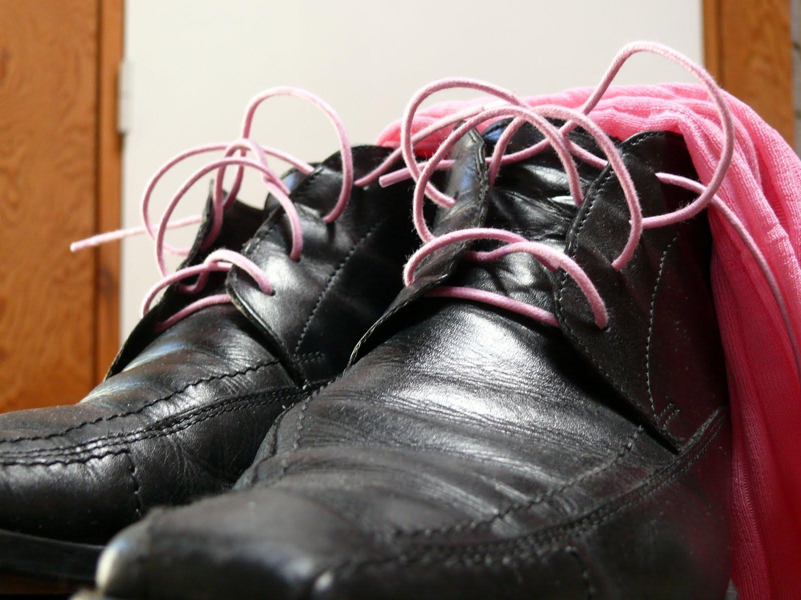 ik heb mijn stoute schoenen aan