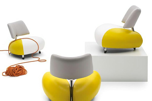 Colorful and Stylish Pallone Armchair