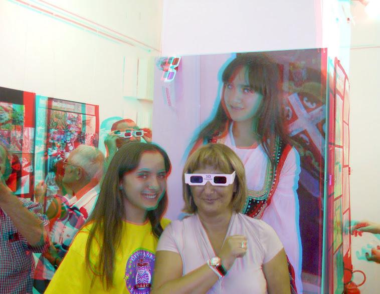 Sa prve izložbe 3D fotografija u Šapcu 16.09.2011g.