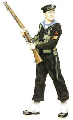Illustration of Polish sailor's uniform WW2