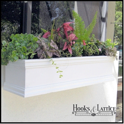 "60 inch window box, 60 inch window boxes, 60"" window box, 60"" window boxes"