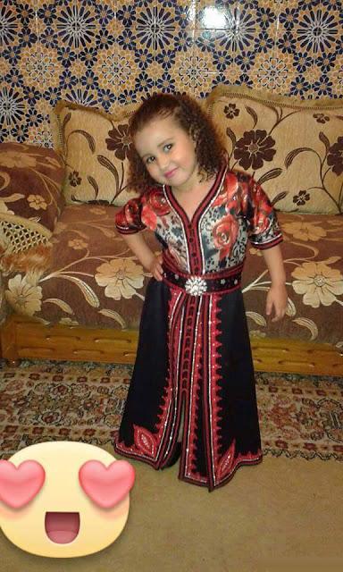 جديد موديلات القفطان المغربي للبنات الصغار 2015-2016