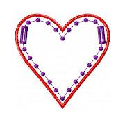 Love Heart Banner ITH Project perfect for your Valentine!