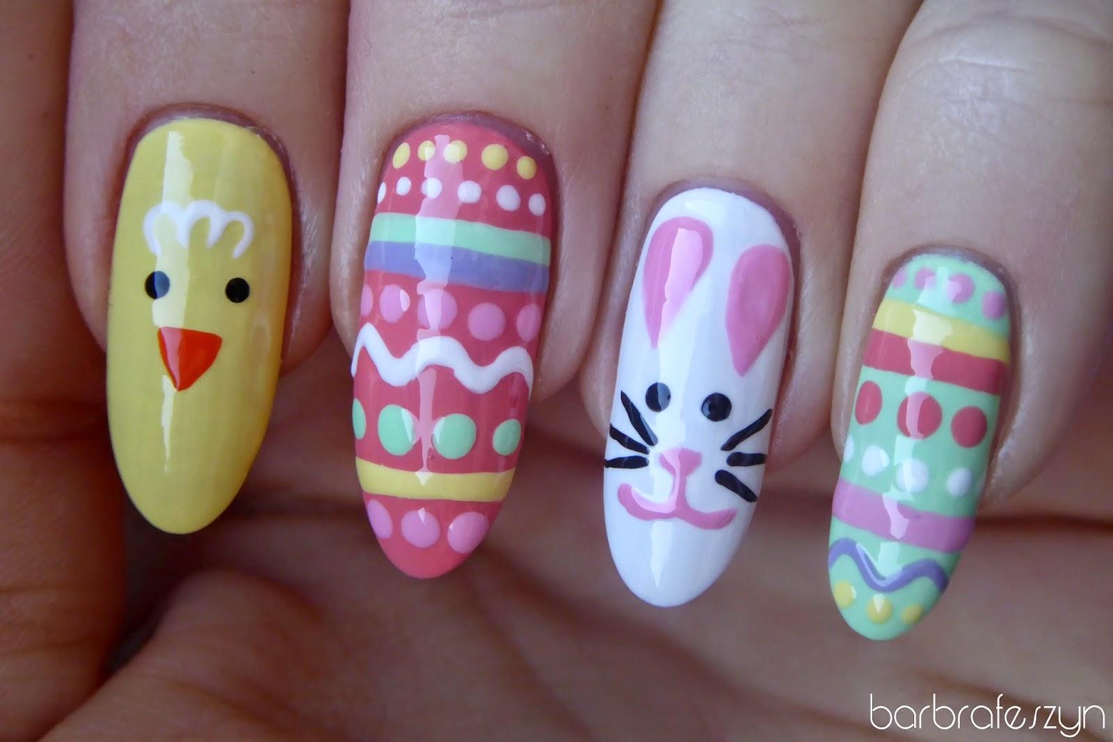 Wesołych świąt Wielkanocnych Barbrafeszyn Blog O Paznokciach