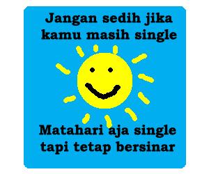 Kata Kata Single Happy Yang Gokil