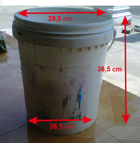 Perbandingan Mutu Cor Beton dengan Kaleng Cat 25kg