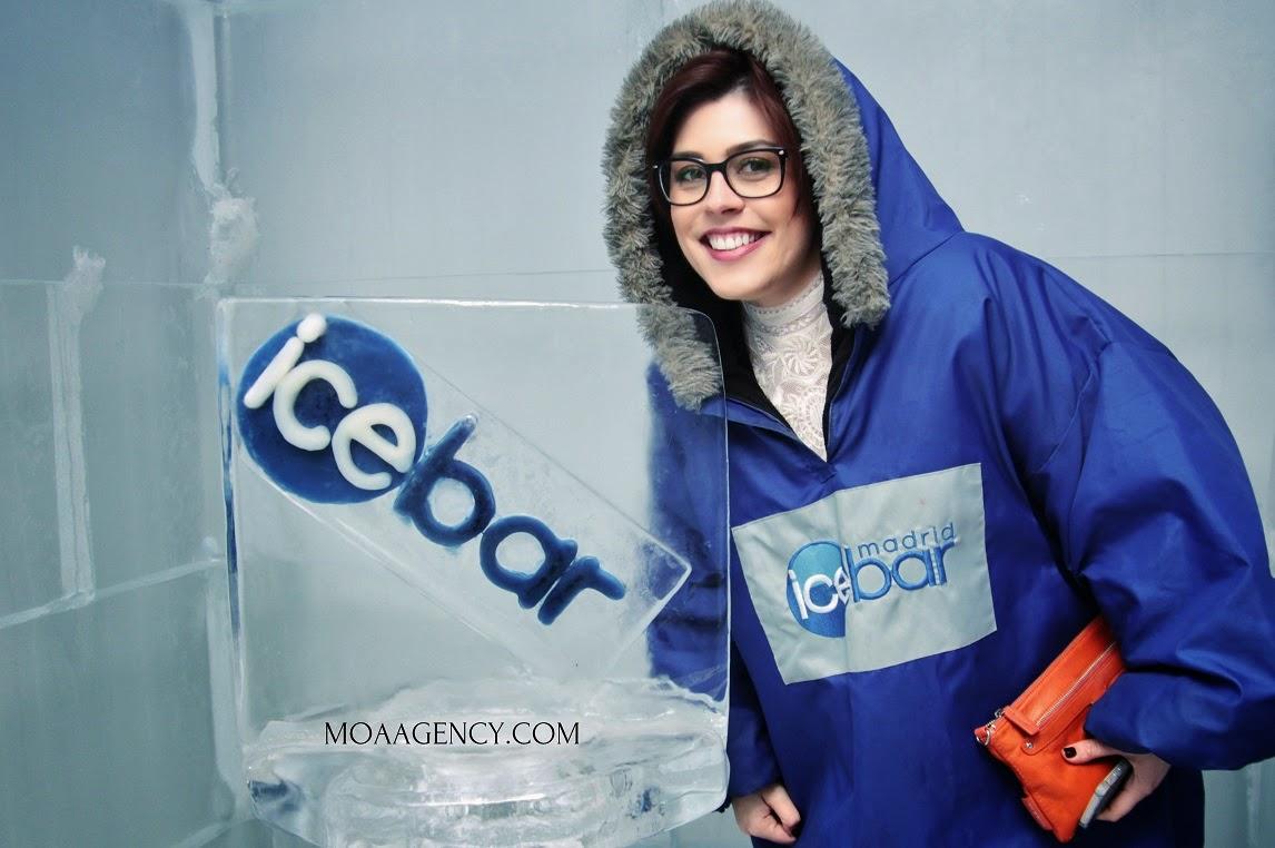 Moa Agency, Ice Bar, Moda, Fotográfia, Community, Street Style, Presentación, Fashion Blogger, Carmen Hummer