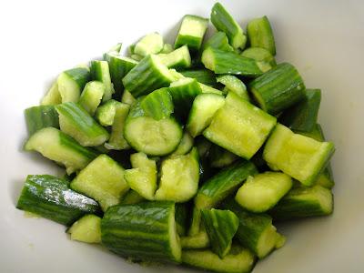 Momsy's Cucumber Salad