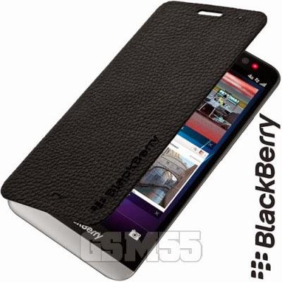 Etui noir pour BlackBerry Z30