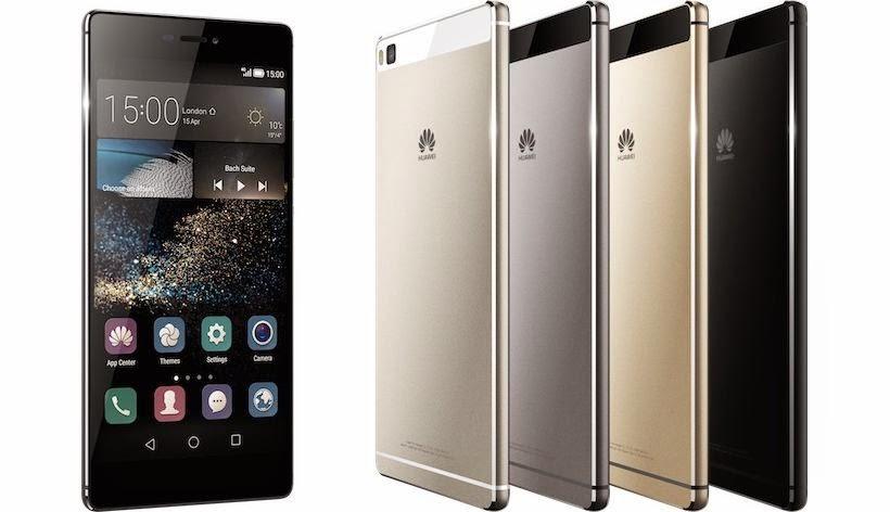 هواوي تكشف عن هاتفيها الجديدين Huawei P8 و Huawei P8 Max