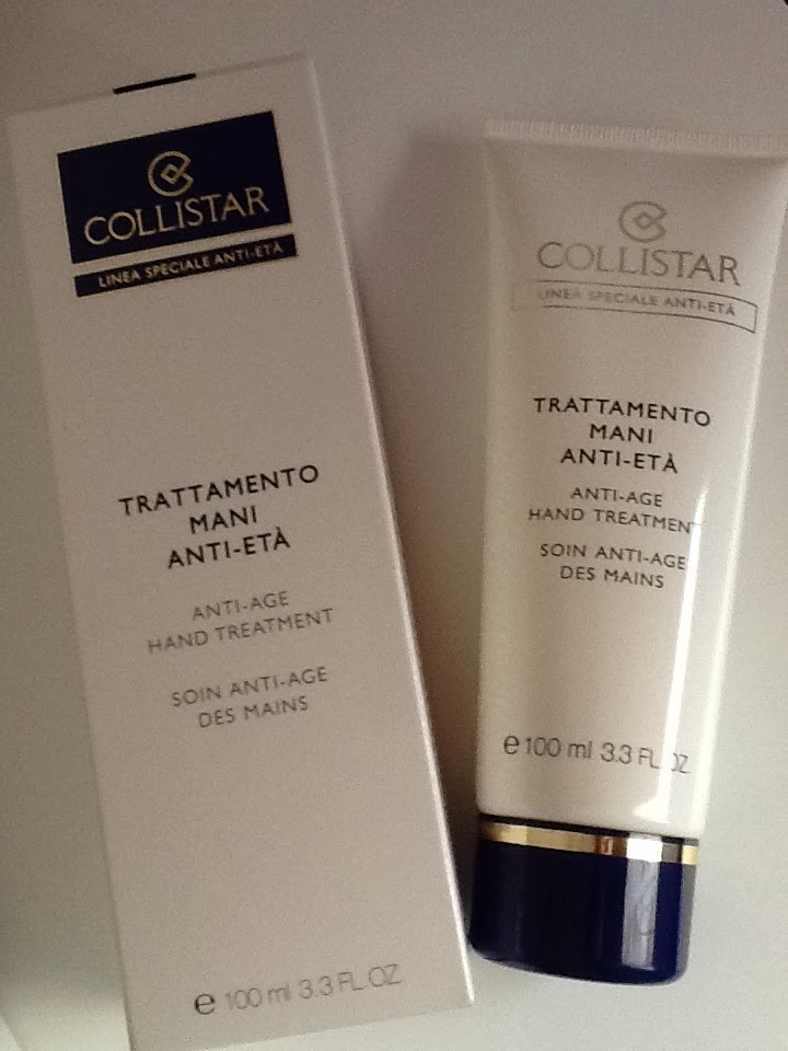 Collistar anti-age hand cream