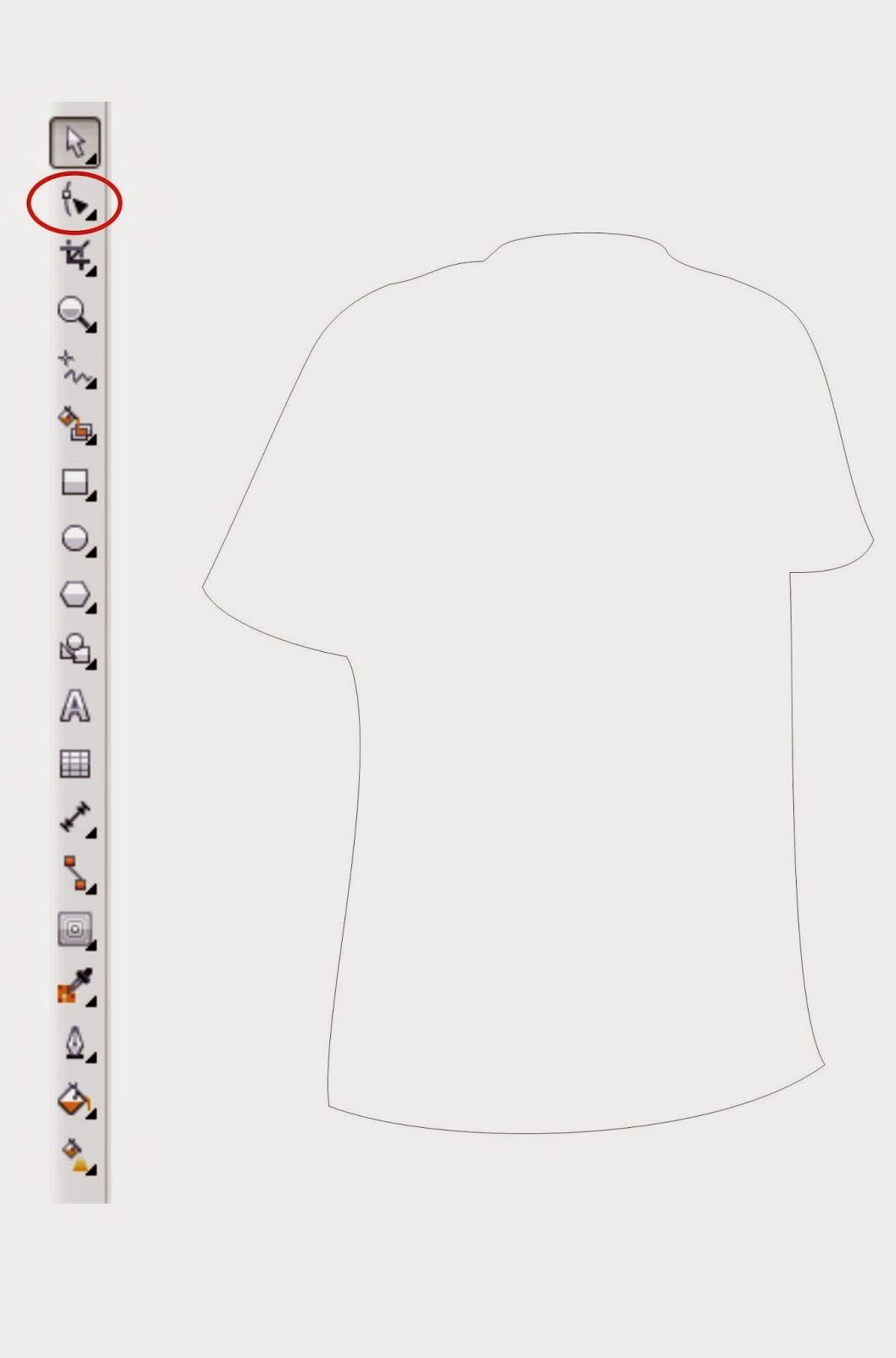 Kaos dengan Corel DRAW X6