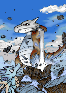 Marowak and Seadra