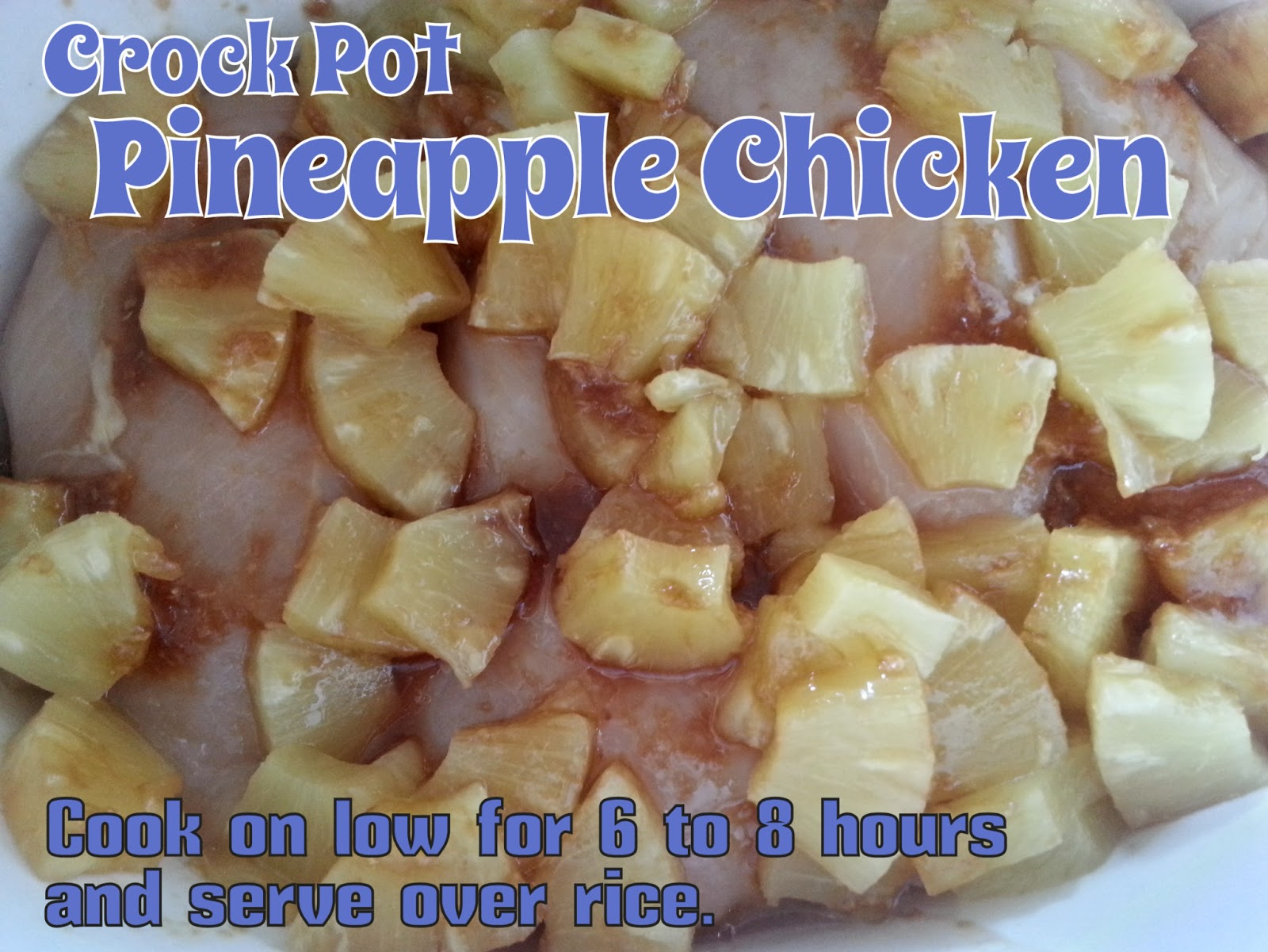 ... of O's and A's with Blood Type and Diet: Crock Pot Pineapple Chicken