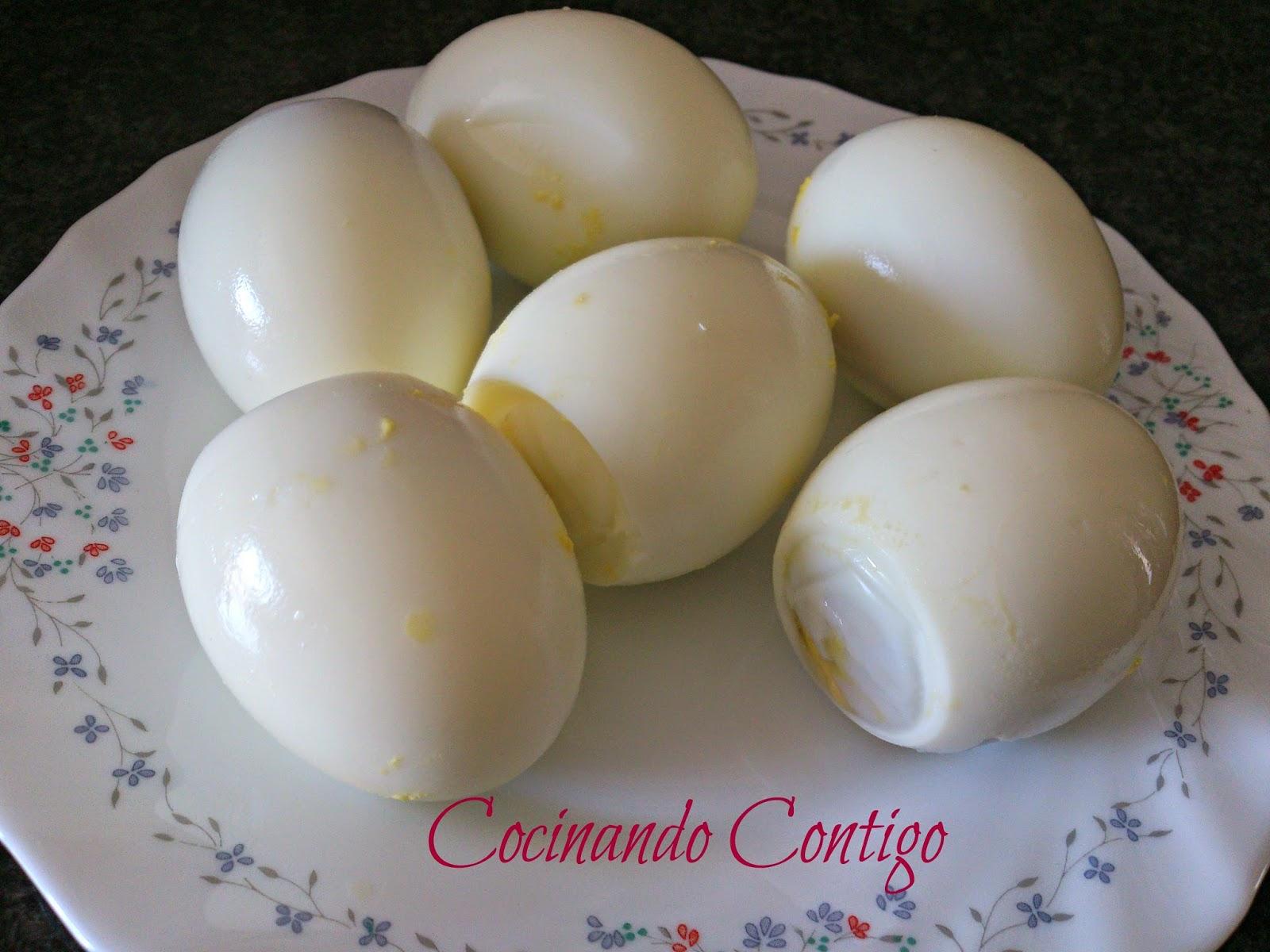 Cocinando contigo huevos cocidos for Cocinando 1000 huevos