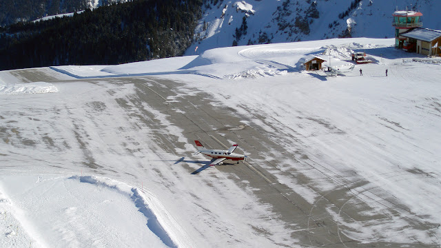 Aeropuertos peligrosos: Aeropuerto Courchevel