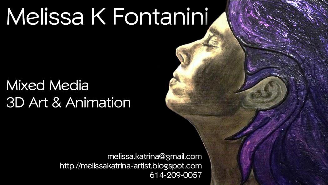 Melissa Fontanini 3D Artist: Business cards!