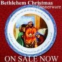 Bethlehem Christmas Dinnerware
