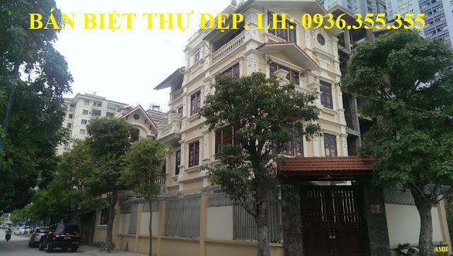 Bán Biệt Thự Thành Phố Giao Lưu, Phạm Văn Đồng