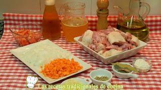 Receta de pollo y conejo a la cerveza