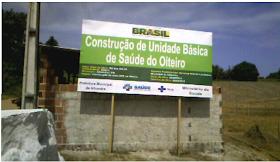 Nova Unidade Básica de Saúde deve beneficiar população de Bairro em Alhandra