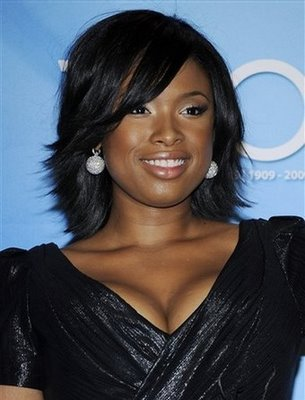 Jennifer Hudson Layered Hairstyle