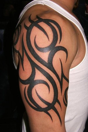 Celtic Tribal Tattoos on Ringkes Tattoos  Tribal Half Sleeve Tattoos