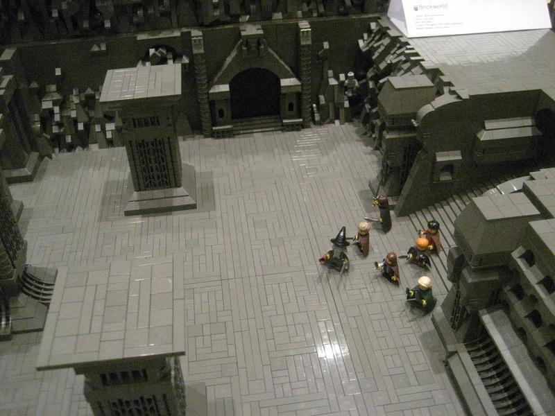 El señor de los lego la comunidad del ladrillo – escenas del
