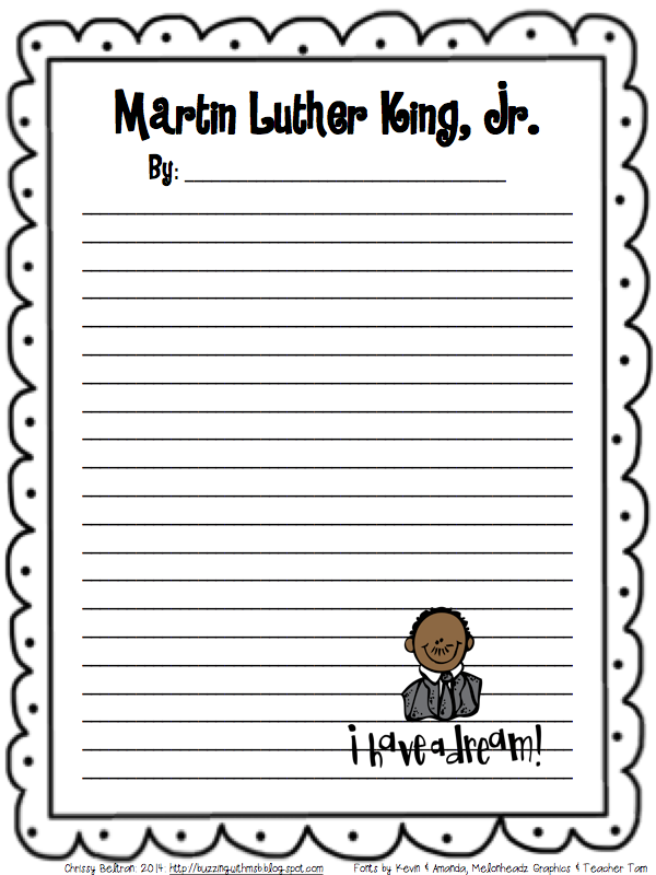 In loving memory of Martin Luther King Jr. at EssayPedia.com