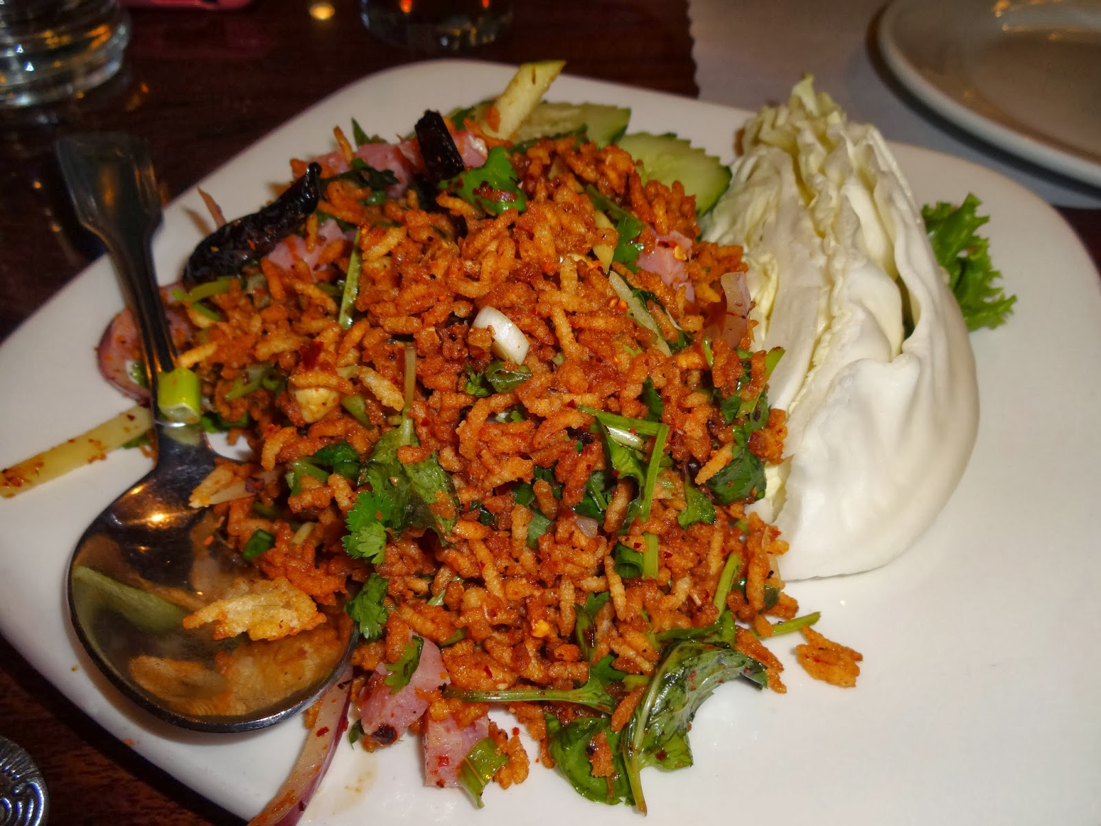 Eating My Way Through OC: Tempting Thai Food Off of the Strip