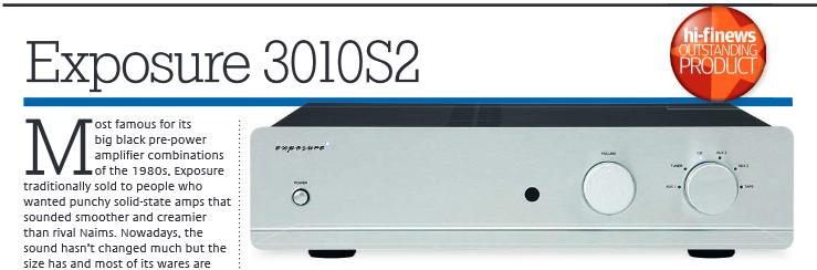 Maxx Audio Visual: Exposure 3010s2 Integrated Amplifier ...