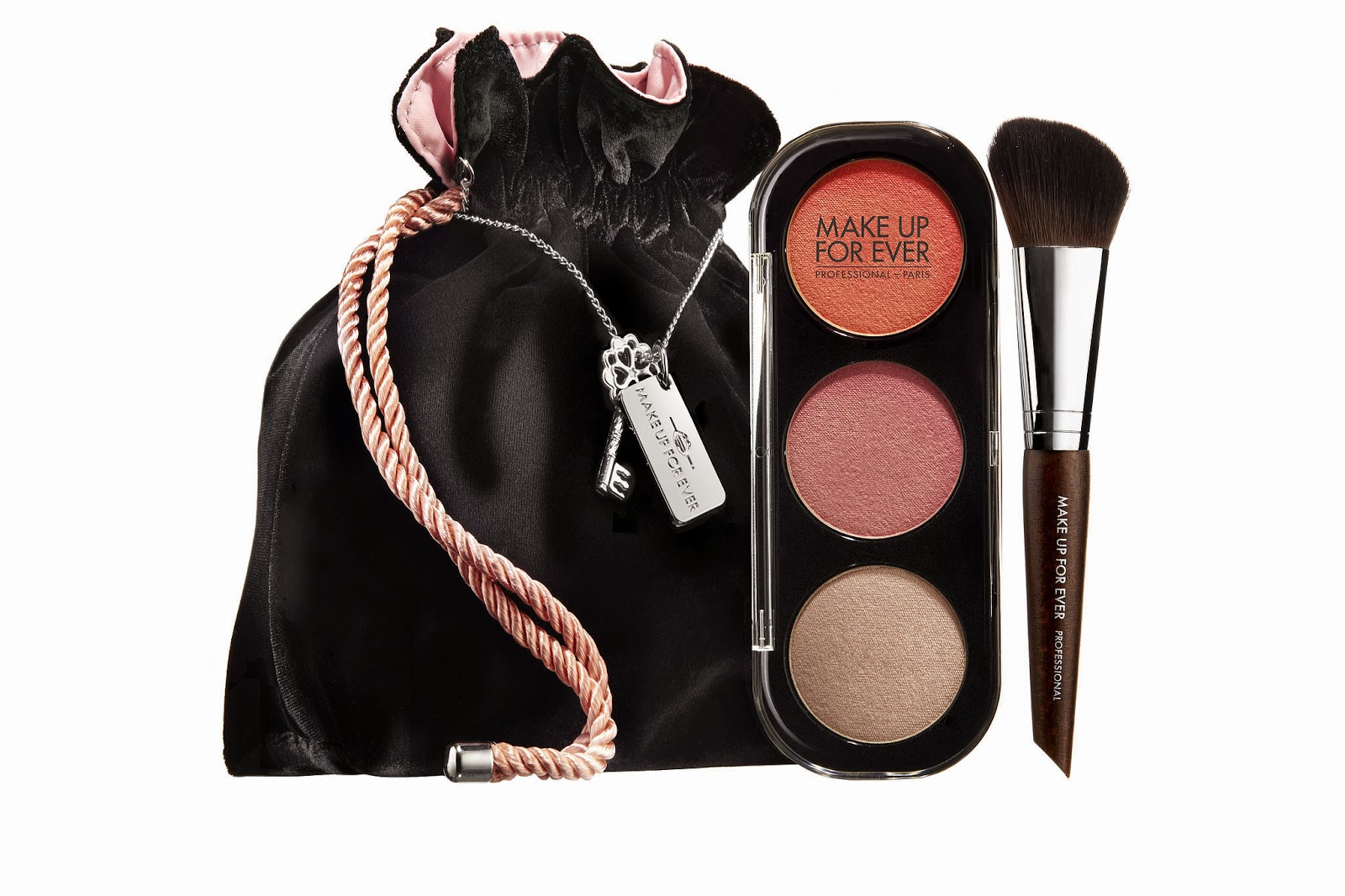 Make Up For Ever, Fifty Shades of Grey Collection, Desire Me Blush Trio